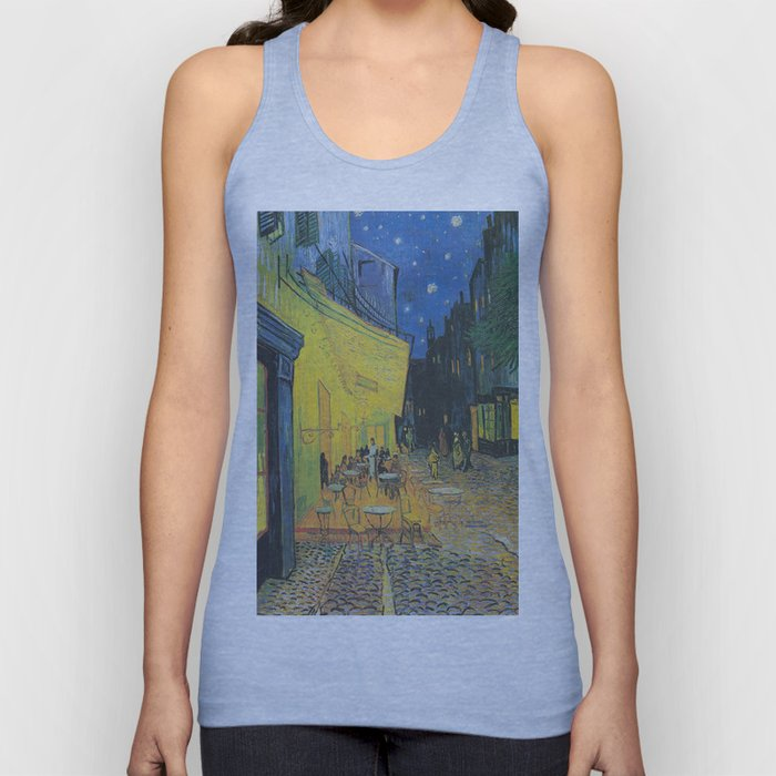 Vincent can Gogh's Cafe Terrace at Night Unisex Tank Top