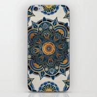 mandala iPhone & iPod Skins featuring Mandala by Mantra Mandala
