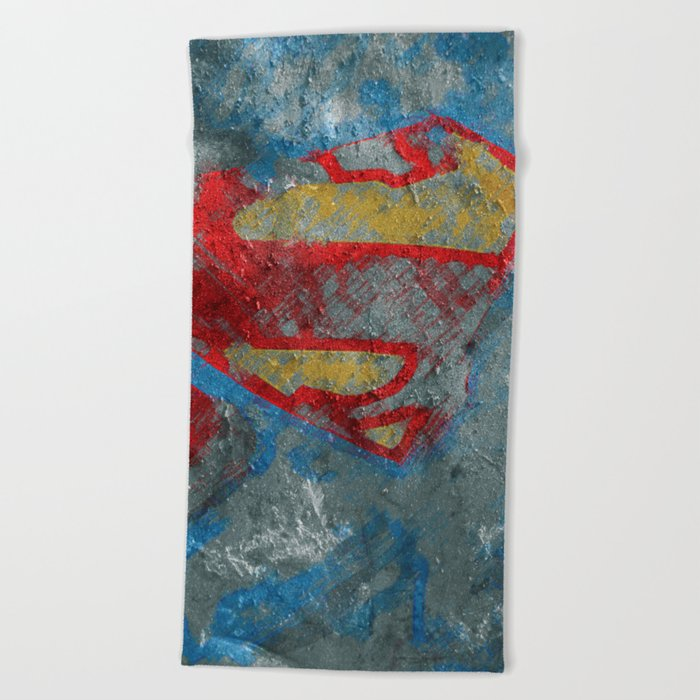 Superman Beach Towel