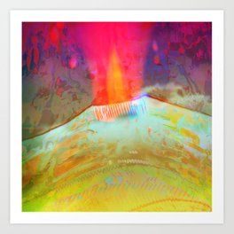 Volcanic Eruption II Art Print