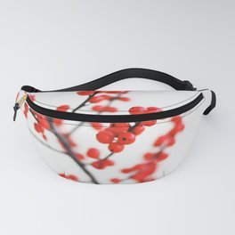 Red Berries Fanny Pack