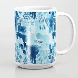 Study in blue, watercolor Coffee Mug