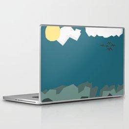 Night with Blue sky Laptop & iPad Skin