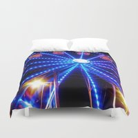 carnival Duvet Covers featuring Carnival by Catherine Donato