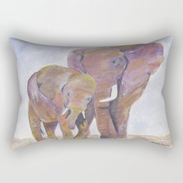 Mom and Me Rectangular Pillow