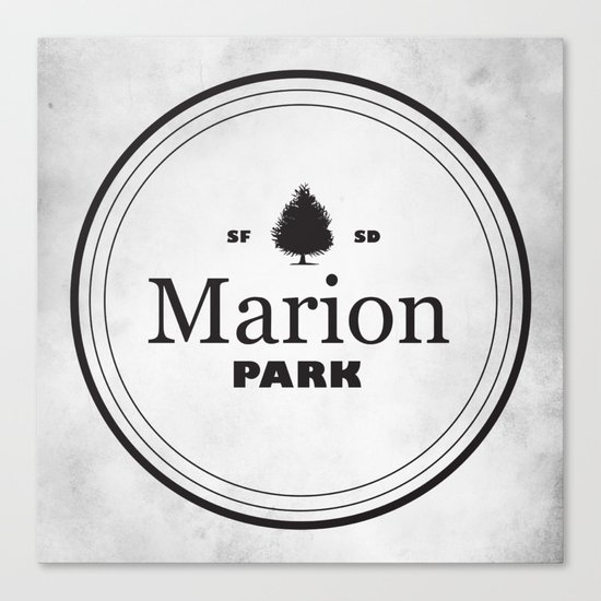 Marion Park Canvas Print