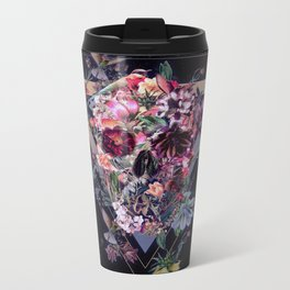 New Skull Metal Travel Mug