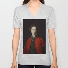 "Sir Joshua Reynolds ""Stephen Croft, Junior"" Unisex V-Neck"