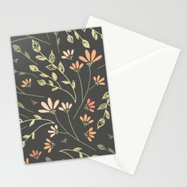 Patrón Floral Inspiración Stationery Cards