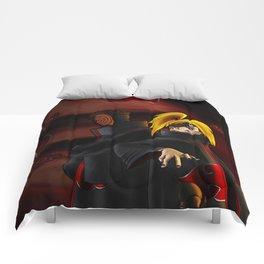 tobi  and deidara Comforters