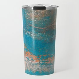 Sunset Blue Travel Mug