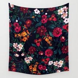 The Midnight Garden Wall Tapestry