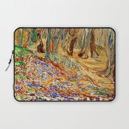 Edvard Munch - Elm Forest in Spring Laptop Sleeve
