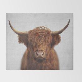 Highland Cow - Colorful Decke