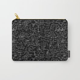 Physics Equations on Chalkboard Carry-All Pouch