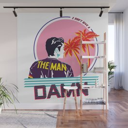 The Man Wall Mural