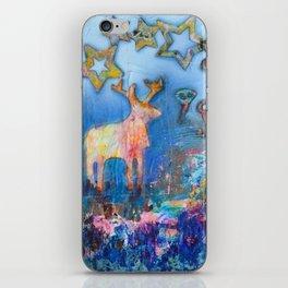 Happy moose iPhone Skin