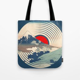 Rubino Wave LP Record Vinyl Asian Japan Tote Bag