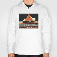 pyramid Hoodies featuring pyramid by pcart