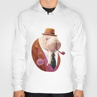 walrus Hoodies featuring Walrus by Animal Crew