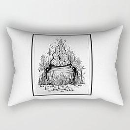 Magic cauldron Rectangular Pillow
