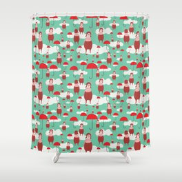 A nice day to fly Shower Curtain