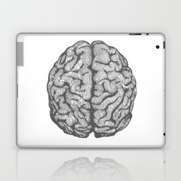 Brain vintage illustration Laptop & iPad Skin