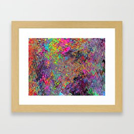 Alien Dubstep Framed Art Print