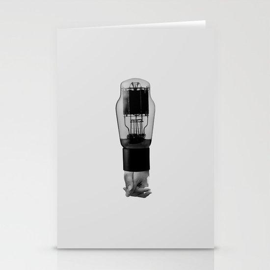 electron tube Stationery Cards