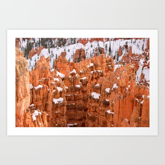 Bryce Canyon - Sunset Point IV Art Print