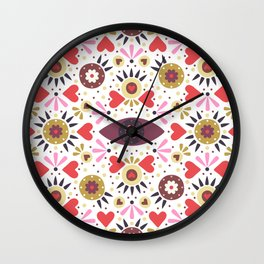 Lovely Folk Wall Clock
