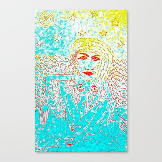 Sea Child Canvas Print