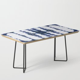 Boho Tie-Dye Knit Vertical Coffee Table