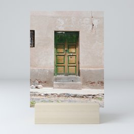Bolivia door 3 Mini Art Print