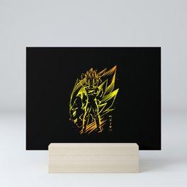 Vegeta Mini Art Print
