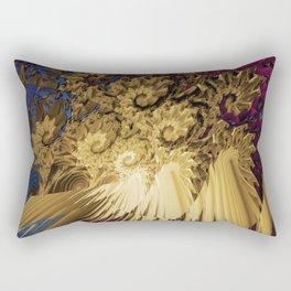 Messy Abstract Rectangular Pillow