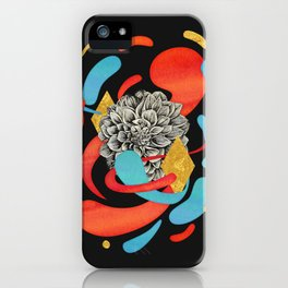 The Flower Fades iPhone Case