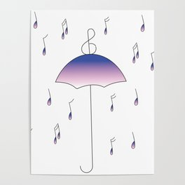 Don't Let the Rain Beat You Down Poster