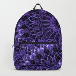 Detailed violet mandala Backpack