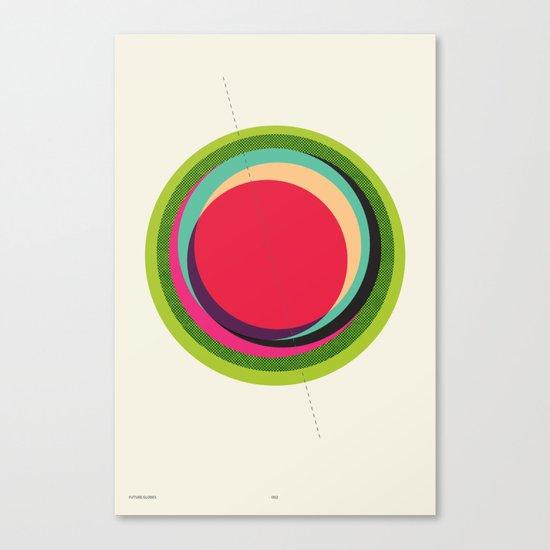 FUTURE GLOBES 002 Canvas Print