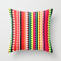 forever young Throw Pillows featuring Forever Young by Ornaart