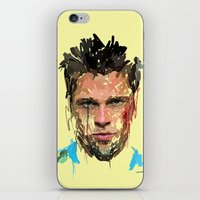 tyler spangler iPhone & iPod Skins featuring Tyler by Marcello Castellani