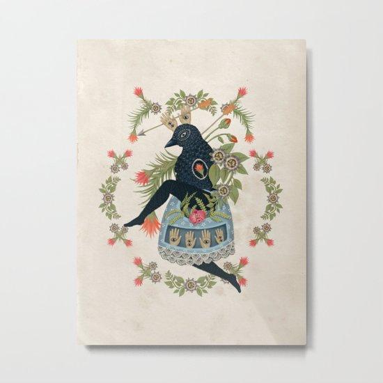 Bird Dance Metal Print