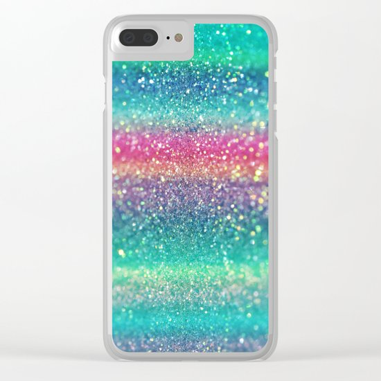 Summer Surf Clear iPhone Case