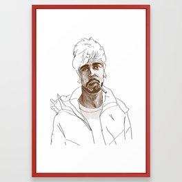 A good man Framed Art Print