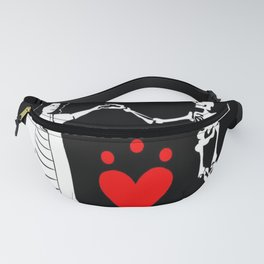 Pirate Queen Jacquotte Delahaye's Flag Fanny Pack