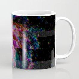Glitch Galaxy - Spiral Galaxy M101 Coffee Mug