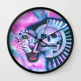 Jaguar & Mictlantecuhtli Wall Clock