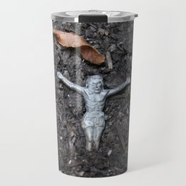 Jesus From The Earth Travel Mug
