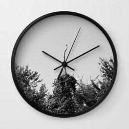 Bare Wall Clock